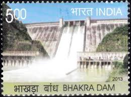 BHAKRA  DAM INDIA
