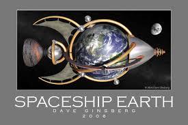 Earth Spaceship  in milkyway