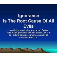 gnorance