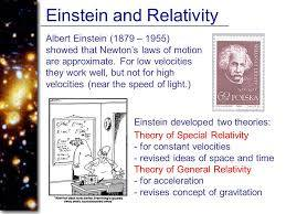 What Einstein thinks about Newton,s work