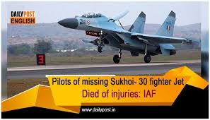 Sukhoi 30 crash  Assam