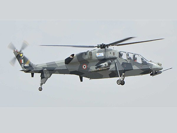 Advance  Light Helicopter crashed in Arunanchal Pradesh