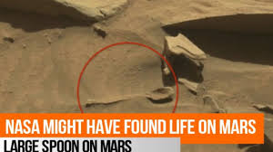 MARS IMAGE SPOON FOUND
