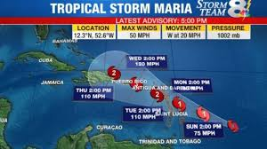 MARY MA TO SAVE CHILDREN OF CARRIBEAN NATION AND FLORIDA  FROM HURRICANE