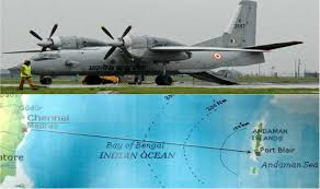 AN 32 IAF PLANE PLUNGED INTO BAY OF BENGAL