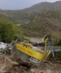 FALL OF SCHOOL BUS IN KANGRA VALLEY HIMANCHAL PRADESH
